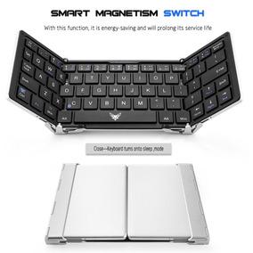 Teclado Dobrável Bluetooth P/ Samsung Tab A Tab S2 Tab S3 S4