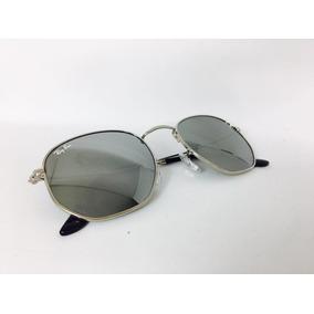 Óculos Feminino Espelhado Hexagono De Sol Ray Ban - Óculos no ... 1b76b59381
