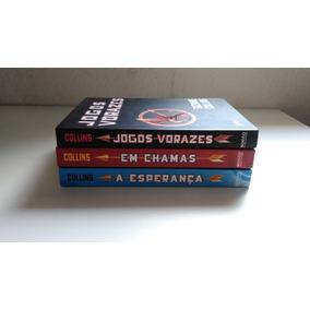 Os Três Livros Da Trilogia Dos Jogos Vorazes