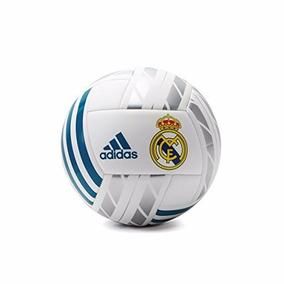 Balon Soccer adidas Real Madrid Blanco Azul Plata 5 Original ce88e994a4364