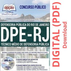 Dpe- Rj - Apostila Técnico Medio