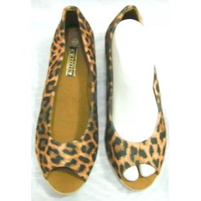 d4efe0a9add Zapatos Plataforma Negros Con Leopardo - Zapatos en Mercado Libre ...