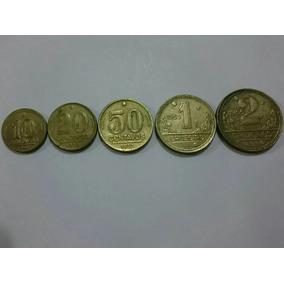 Moedas 10, 20 E 50 Centavos Mais 1 E 2 Cruzeiros 1943/1950