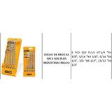 Juego De Brocas 5pcs Sds Plus Industrial Ingco