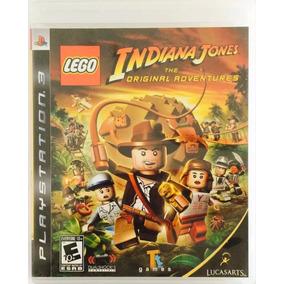 Lego Indiana Jones Ps3 Mídia Física