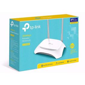 Roteador Wi-fi Tp-link Wr 849n Original 2 Antenas 300mbps