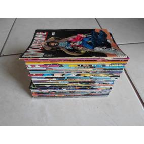 Lote Com 30 Gibis Do Wolverine Editora Abril