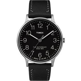 Reloj Para Caballero Timex Color Plata Con Negro