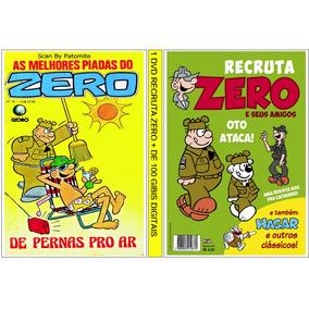 2 Dvd Recruta Zero C/+ De 145 Revistas Digitalizadas