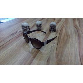 1fbed0d95b240 Oculos Lente Redonda - Óculos De Sol Armani no Mercado Livre Brasil