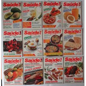 Revistas Antigas Saúde Ano Completo De 1989 - Frete Grátis