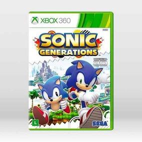 Jogo Sonic Generations Xbox 360 Mídia Física Frete Grátis
