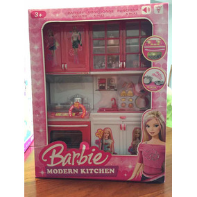 Cocina De Barbie Juegos Y Juguetes En Mercado Libre Venezuela