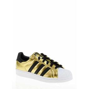c0882aaeeb52f6 Adidas Superstar Up Mujeres - Tenis Dorado oscuro en Mercado Libre ...