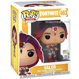 Funko Pop Fortnite Valor 463 Original Fortnite Scarlet Kids