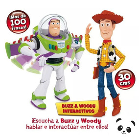 Buzz Lightyear Y Woody Interactivos Toy Story 100+ Frases ce19c4a8c68
