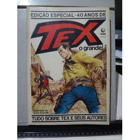 Gibi Hq Edição Especial 40 Anos Tex O Grande