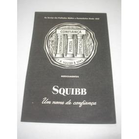 07eeb0f6cb1 L - 290  Pbmk750 Propaganda Antiga Indústria Squibb