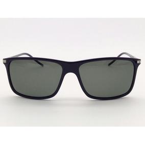 Óculos De Sol Leve Azul Escuro Masculino Polarizada 615 C120 fa84d885ce