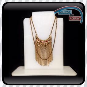 Exhibidor De Collares En Acrilico 6mm