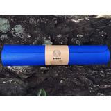 Colchonete Tapete Yoga Prana Azul G 2m X 5mm + Alça Transp