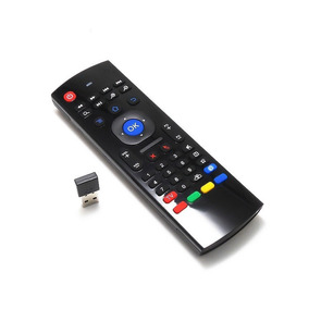 Controle Tv Teclado Air Mouse Sem Fio Usb 2,4ghz Android Pc