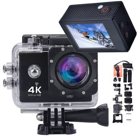 Camera Wifi Filmadora Ultra Hd 16mp Prova Dagua Acessorios