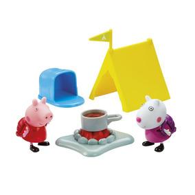 Peppa Pig Hora De Comer Acampamento Suzy Dtc