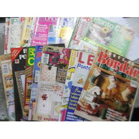 ***lote Com 20 Revistas De Ponto Cruz