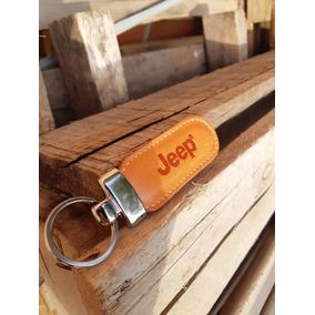 Chaveiro Jeep Para Carro Em Couro Legítimo