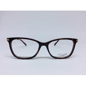 f8b00e17f8d11 Óculos Atitude At5154 H04 55 16 143 - Óculos no Mercado Livre Brasil