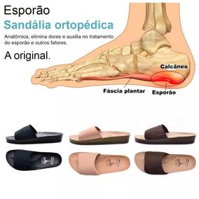 3 Pares Chinelo Sandália Plantar Esporão Calcâneo Ortopédica