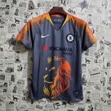 66cac8c757 Camisa Treino Chelsea - Camisa Chelsea Masculina no Mercado Livre Brasil