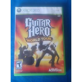 Guitar Hero World Tour Xbox 360 Midia Fisica Frete 15
