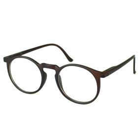 13e38108b6c5e Armação Oculos De Grau Retro Redondo no Mercado Livre Brasil