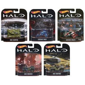 Coleção Halo Hot Wheels Mattel 5 Carrinhos