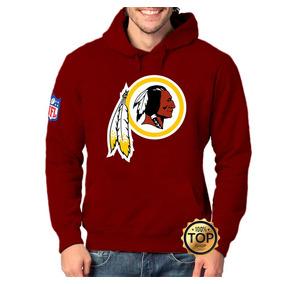 06a1e2eb2b Blusa Moletom Washington Redskins Moleton Índio Nfl Unissex