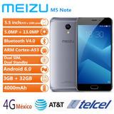 Meizu M5 Note 4g Smartphone 5.5 Pulgada 3gb Ram 32gb Rom