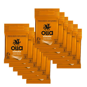 Kit Olla Preservativo Stimulus 3uni. Com 12 Packs