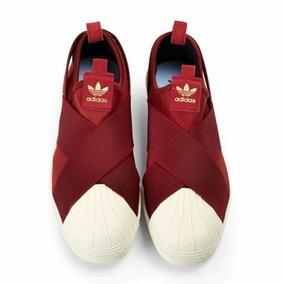 acf0b259316 Adidas Superstar Slip On Feminino - Tênis Textil no Mercado Livre Brasil
