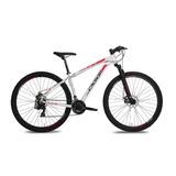 Bicicleta Hacker Sportaro 29 21 Vel Branco/vermelhooggi