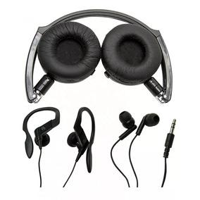 Fone Kit 3 Headphone Earphone Vivitar V12134-raven