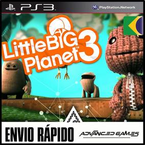 Littlebigplanet 3 Dublado - Jogos Ps3 Midia Digital