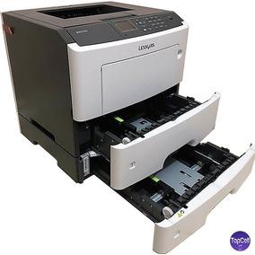 Impressora Lexmark Laser Grátis Bandeja+3 Toner 10.000 Cops