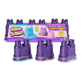 Kinetic Sand Arena Masa Set X 3 Colores Brillos Mundo Manias