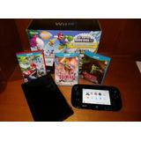 Wii U 32gb Super Mario 3juegos Originales