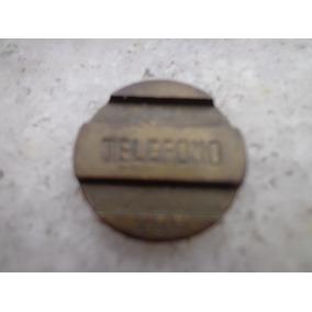 Ficha Telefone Público Antiga Orelhão Argentina