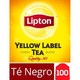 Té Negro Saquitos Lipton Yellow Label 100 Saquitos