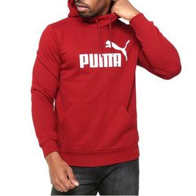 Moletom Puma Ess No.1 Hoody Fl Masculino 83825789 - P - Verm 69438ad7477ea