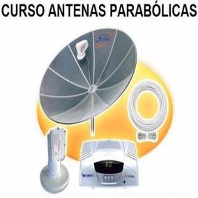 Curso De Antenas Parabólicas 7 Dvds Video Aulas - A4